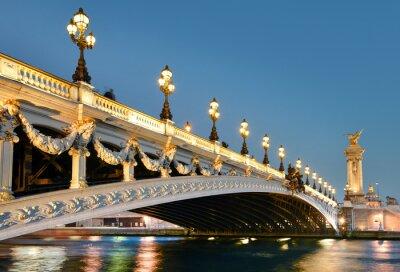 Sticker Pont alexandre, Paris