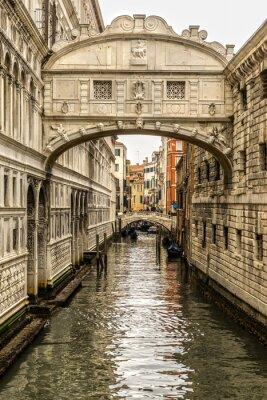 Sticker Ponte dei Sospiri, Venedig, Italien