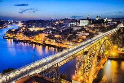 Porto mit dem Dom Luiz Brücke, Portugal