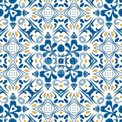 Sticker: Portugiesische fliesen