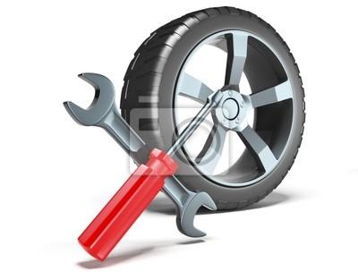 Rad und Werkzeuge