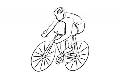 Sticker Radsport