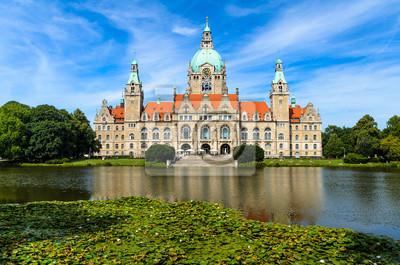 Rathaus Hannover im Sommer