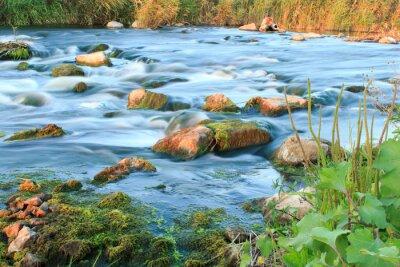 Sticker Rauschenden Fluss