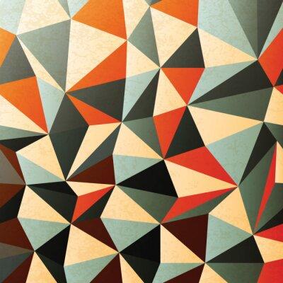 Sticker Rautenförmige Muster. Abstrakt, Vektor, EPS10