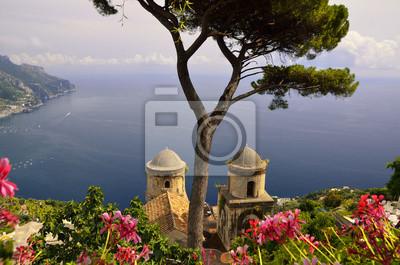 Ravello wybrzeże Amalfi