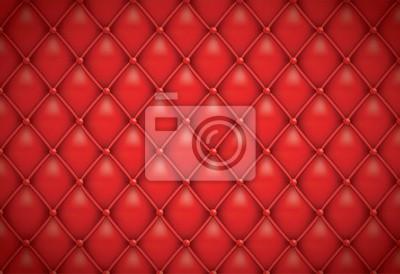 Red Lederpolsterung Hintergründe