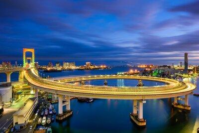 Sticker Regenbogen-Brücke Tokyo