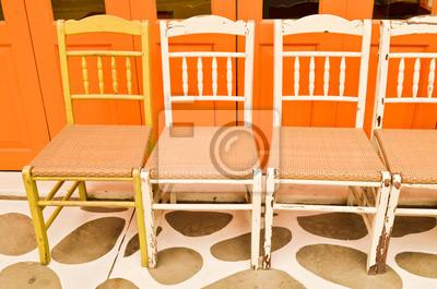 Reihe von Stuhl