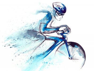 Sticker Rennfahrer