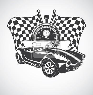 Rennwagen cobra