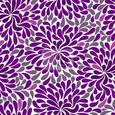 Repetitive Muster violett