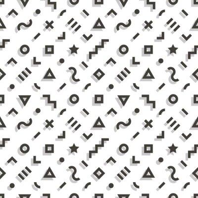 Retro geometrischen nahtlose Muster. 1