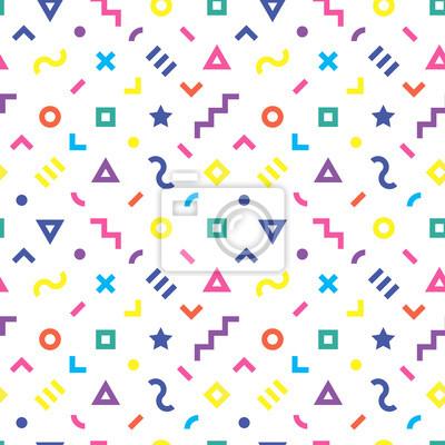 Retro geometrischen nahtlose Muster. 2