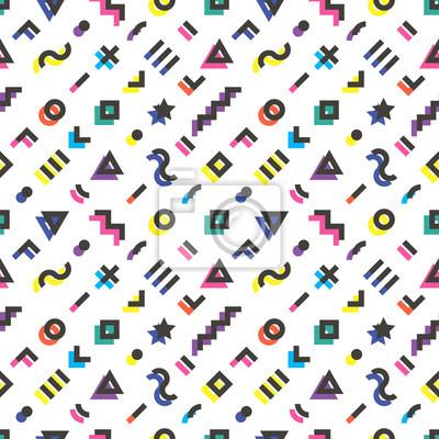 Retro geometrischen nahtlose Muster. 3.