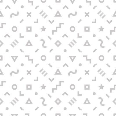 Retro geometrischen nahtlose Muster. 4