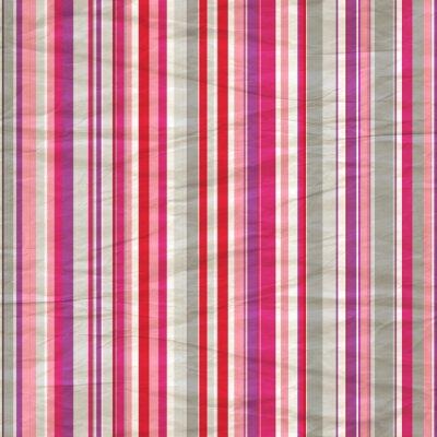 Retro Papiermusterstreifen in grau, lila und rosa