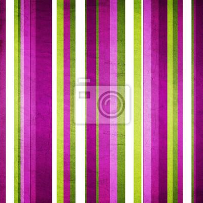 Retro Streifen-Muster in grün, lila, weiß und violett