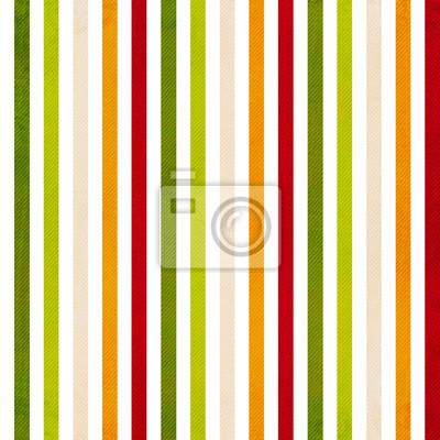 Retro Streifenmuster - Hintergrund mit farbigen beige, rot, yello