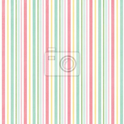 Retro Streifenmuster mit hellen Farben