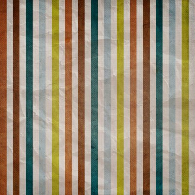 Retro stripe pattern - background with colored brown, blue, grey