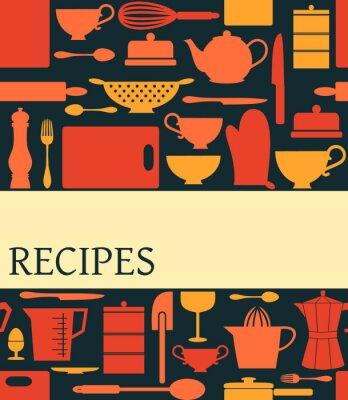 Rezept-Karten-Entwurf