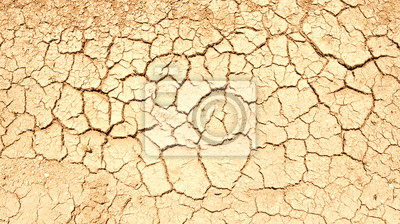 rissigen Boden