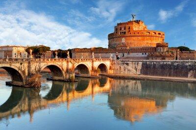 Sticker Rom - Castel Sant Angelo, Italien