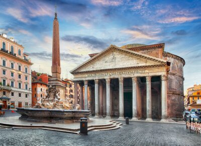 Sticker Rom - Pantheon, niemand