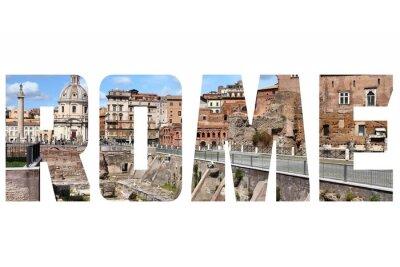 Sticker Rom unterzeichnen