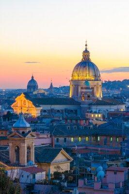 Sticker Roma Aussicht von Villa Borghese