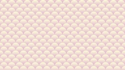 Rosa beige Farbe abstraktes Muster. Pastellfarbene Tapete. Gradiented Kreise Hintergrund.