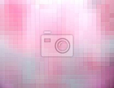 Rosa Würfel abstrakten Hintergrund