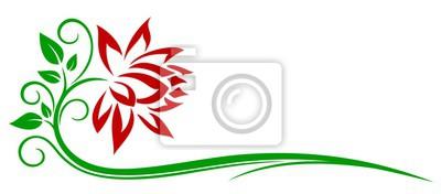 Rote Blume Logo.