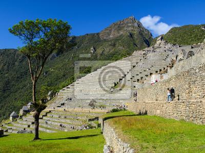 Sticker Ruinen von Machu Picchu