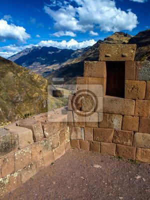 Sticker Ruinen von Pisaq