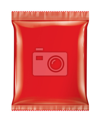 Sachet Beutelpackung Red