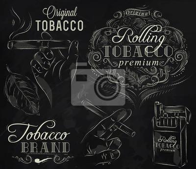 Sammlung Tabak