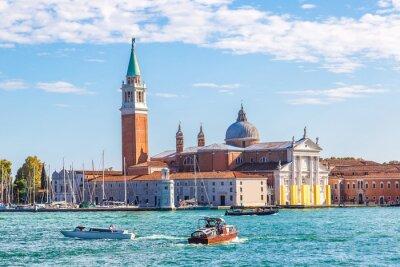 Sticker San Giorgio Insel in Venedig, Italien