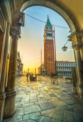 Sticker San Marco, Venedig, Italien