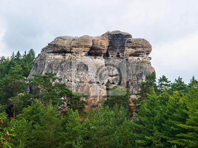 Sticker Sandsteinformationen im Böhmischen Paradies