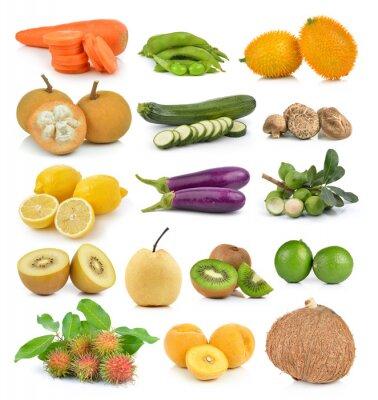 Sticker Santol, Karotten, Erbsen, Pilze, Zucchini, Zitrone Macadamia, coc