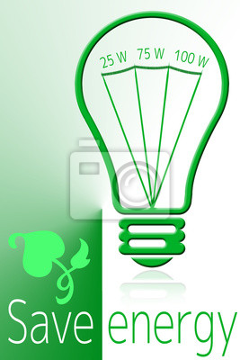 Save energy with green light