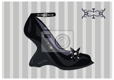 Sticker schicke Schuh