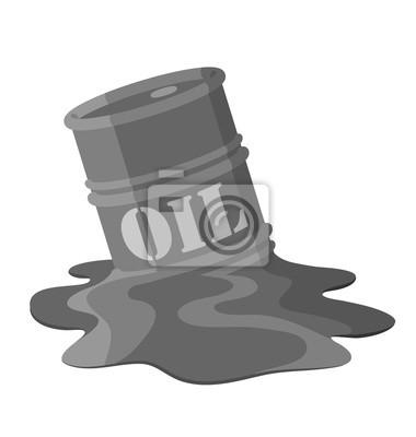 Schmelzen Ölfass