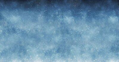 Sticker Schnee-Hintergrund