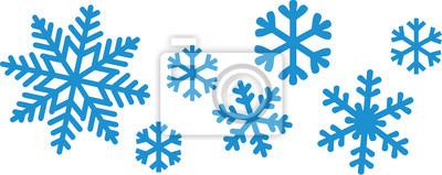 Sticker Schneeflocke-Set