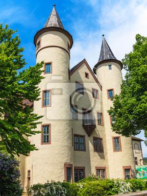 Sticker Schneewittchen Schloss In Lohr Am Main Im Spessart
