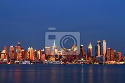 Schöne Aussicht auf New York