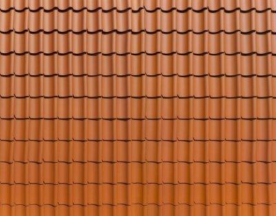 Glatter dachziegel textur  Schöne dachziegel im panoformat (frankfurter pfanne) notebook ...
